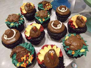 Thanksgiving Cupcakes2